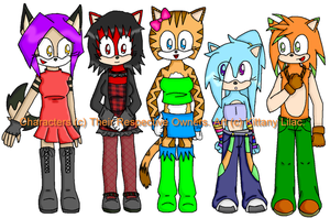 Group of Freaks - Gift Art by KittanyLilac