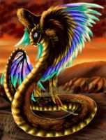 Quetzalcoatl-The Four Pillars by Tigryph