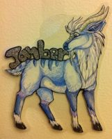 Jamber badge commission by nightspiritwing