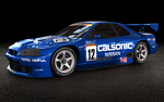Nissan Skyline GT-R R34 JGTC CALSONIC view 1 by keshon83