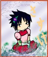Sasuke is teh Pretty Princess by AsterUchiha