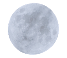 White Moon by WDWParksGal-Stock