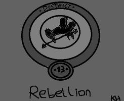 District 13 symbol by HungerGamesTribute45