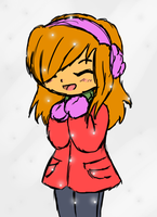 Kawaii Winter (or something) by Starry-Bat1