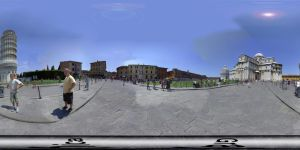 Pisa panorama by Graphica