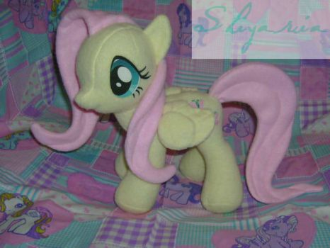 Fluttershy Plush! by ShyraWolf
