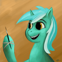 Lyra in TIME TO PAINT!!! by yawgmotth