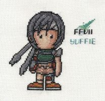Yuffie in Stitches by gatchacaz