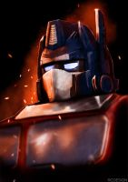Optimus Prime by rcrosby93