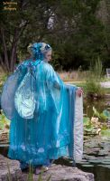 Water Fairy with her back turned by AzreGreis