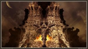 Castle Dragonstone by viperv6