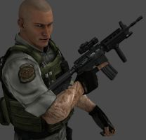 BSAA Orton? by iamthelegion