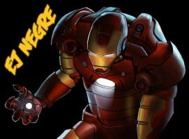 IRON MAN TRIBUTE by EJ2letters