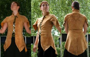 Wood-Elven tunic by Celefindel