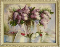 Lilac Bouquet by Kaitana