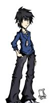 Connor Grayson: TWEWY Style by CaineScroll