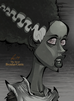 Bride of Frankenstein by BrendanCorris