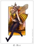 Q-Bee from Darkstalkers by Foulfiends