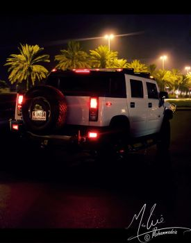 Night Car (Hummer) by captainrajor