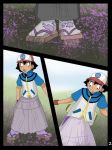 Ash into purple girl page 2 by 455510