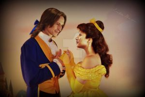 Rumbelle Beauty and the Beast by EmilieBrown