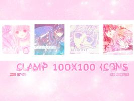 CLAMP 100x100 Icons Set of 51 by Aoripon