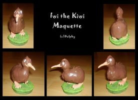 Iwi - Maquette by DolphyDolphiana