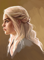Khaleesi by laurenjacob