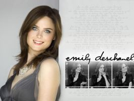 Emily Deschanel wall by geezbones