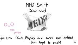 MMD shirt download by Vocaloid98