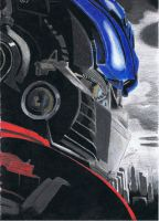 Optimus Prime by Rapse11
