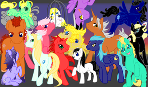 My Little Pony meets Organization XIII by SoraNoRyu