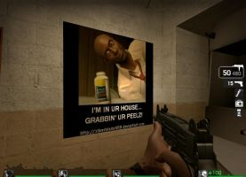 My Left 4 Dead Custom Spray by silverblade989