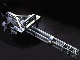M134 Minigun by Leviathan187