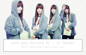 Pack Png Chorong Apink#2 ~ 12 Render by Suncucheoo