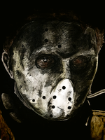 Jason Voorhees by monkeyswithbrushes