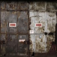 rusty door by sth22art