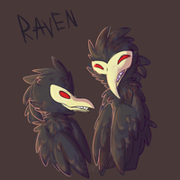 Ravens by Snow-ish