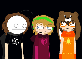 YoutuberStuck Panels Edits- Cry,Pewdie and Ken by Psycho-CandyAddicted