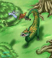 The Willosaur by geruru