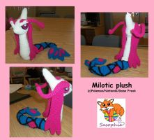 Milotic plush by Sasophie