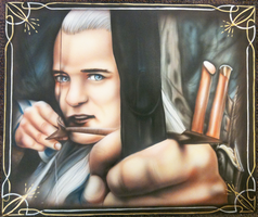 Legolas by chrisfurguson
