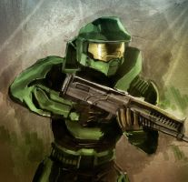 Master Chief by hinchen