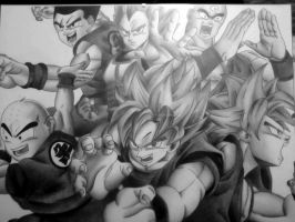 dragon ball z by Maghda
