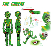 The Greens (alien species) by killb94