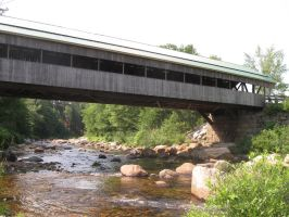 Jackson Covered Bridge by crazygardener