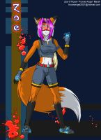 Zoe the Harvester version 2 by Foxxie-Angel