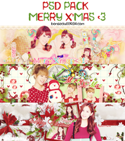 [PSD PACK] MERRY CHRISTMAS ! - by @bonsociu009 by bonsociu009