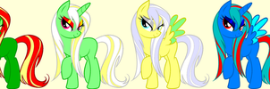 FREE MLP ADOPTS OPEN!!! by FrankinPoodle