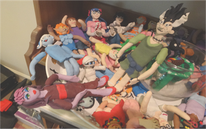 Clay Figures 1 by Atlantagirl